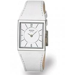 Reloj de Titanio Antialergico Correa Piel Blanca