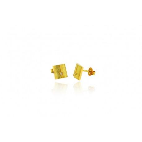 Pendiente de Oro y Diamante Colección MIA