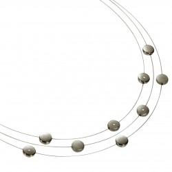 Collar de Titanio Antialergico con Diamantes