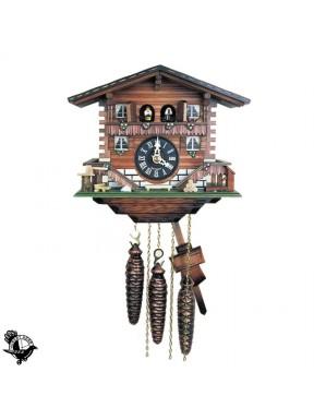 Reloj de Cuco Casa Selva Negra con Musica