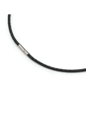 Cable de Cuir Trenat Marró o Negre