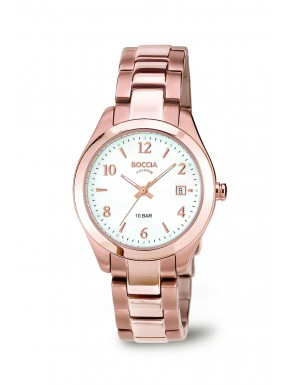 Reloj de Titanio y Oro Rosa