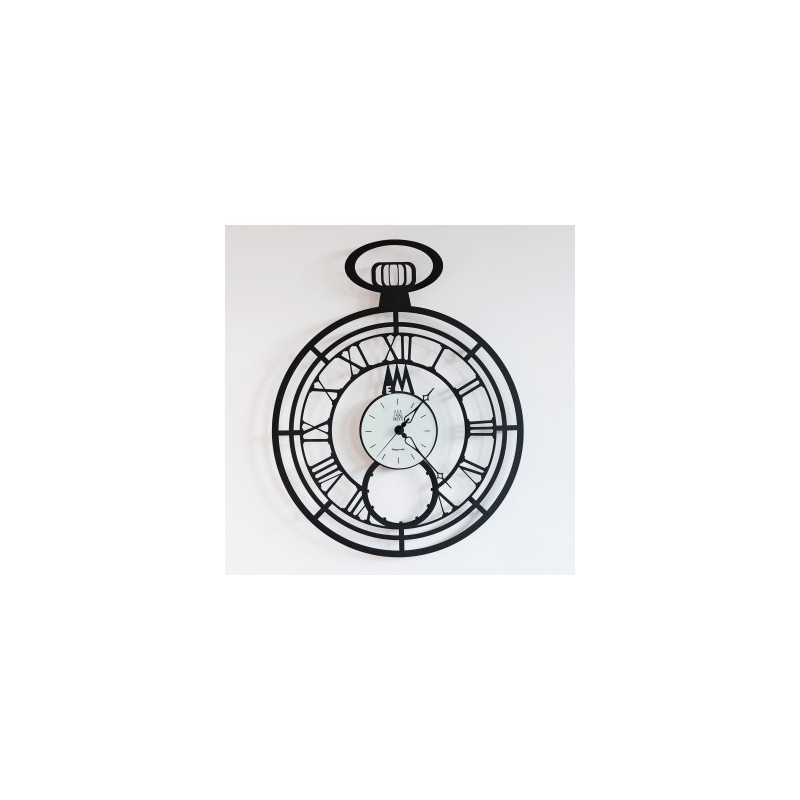 Reloj de pared dise o italiano fabreg shop - Reloj pared diseno ...