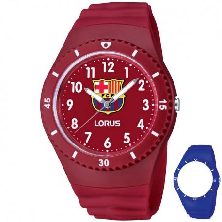 Reloj Lorus F.C. Barcelona azul y rojo - Fabregó Shop 8bdb8ec1e67